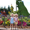 Kamryn & Sydney at their first amusement park - Sesame Place near Philadelphia, PA.