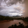 monsoon coming in on the river.  yes, we got soaked about 3 minutes later.