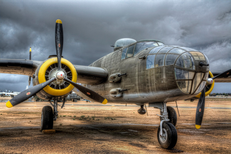 B-25 Mitchell From 1 O'clock
