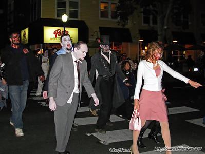 Zombies on the loose, Midtown, Sacramento, California.