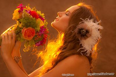 Model: Breanna Baker http://breannabaker.com/  MUA: Olga Pirmatova Jewelry: Molly Hills: Stylist for Stella and Dot Florist: Svetlana Shevchenko of Bryan's Florist Hairstylists: Carrie Bailon MacDonald & Evelyn