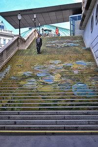 Albertina Museum Stairs - Vienna, Austria
