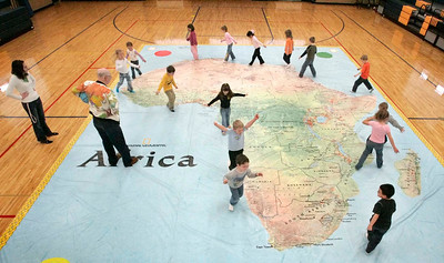 SUNDAY SCHOOLS - GIGANTIC MAP