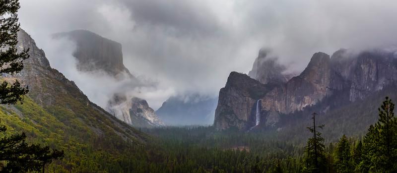 Yosemite March 2020 Tunnel View Pano
