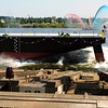 "7.07.12  <b>A new barge makes a big splash!</b>  A brand new 250' barge slides into the water.  (Portland fireboat in the background) <i>Portland, Oregon</i>  More pictures at <a href=""http://jrogers.smugmug.com/Planes-Trains-2/Barge-Launch/24043811_FRLVzf"">Barge Launch</a>"