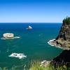 8.04.12  <b>Cliffs and rocks near Cape Meares, Oregon</b>