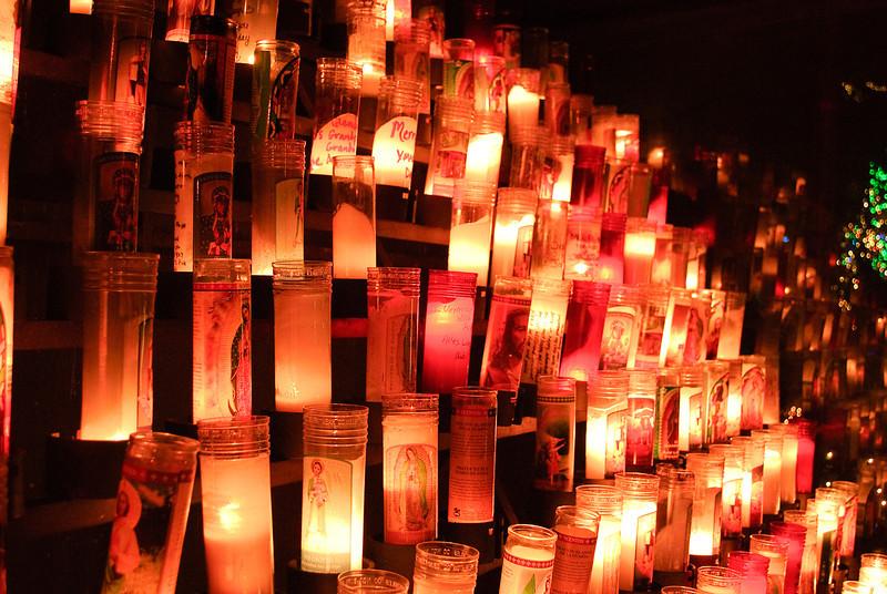 12.13.12  <b>Votive candles at the Grotto</b>  <i>Portland, Oregon</i>