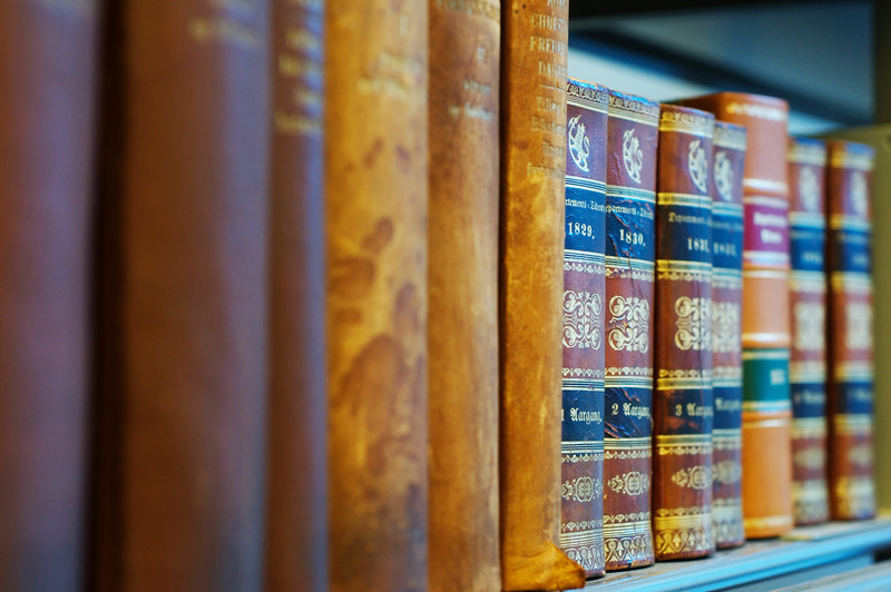 The oldest books in the Ministry Library