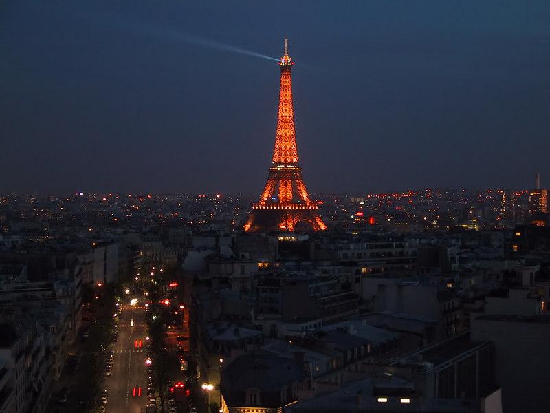 Paris at night - entered 2005