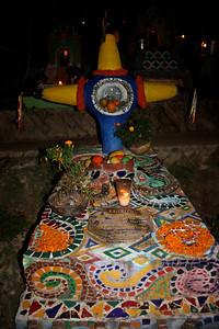 Piñata head stone.