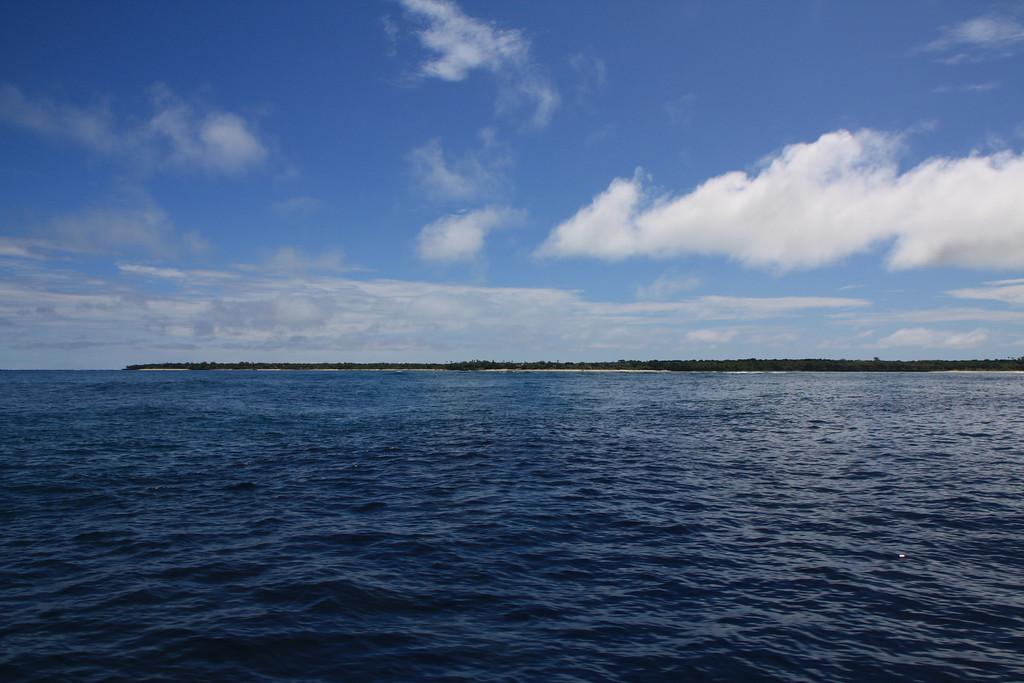 arriving at Viwa Island