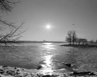 Frozen River Sunshine