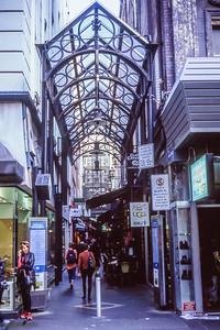 Alleyways of melbourne...