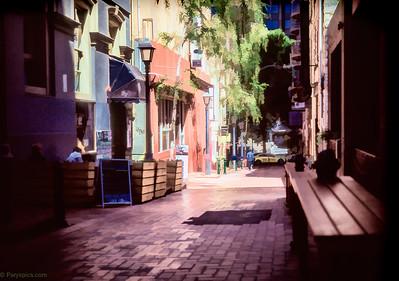 The alley of dreams...