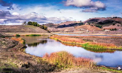 Calero creek reservoir and state park