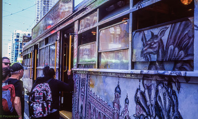 The art tram...