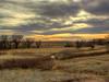 ORIGINAL: Oliver Reservoir State Recreation Area, Nebraska, at dusk.