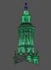 City and County Building tower, Denver Colorado. Just the Colored Pencil filter.