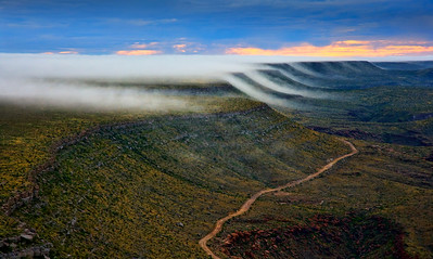Ghost Clouds in the Texas Desert