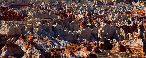 Painted Desert of Coal Mine Canyon, Arizona
