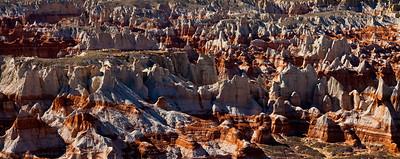 Painted Desert of Coal Mine Canyon, Arizona