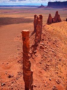 Totem Pole - Monument Valley, AZ
