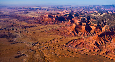 Navajo Reservation expanse, Northern Arizona