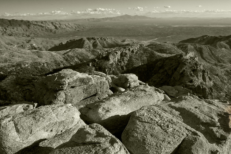 View from Mt. Lemmon, Arizona