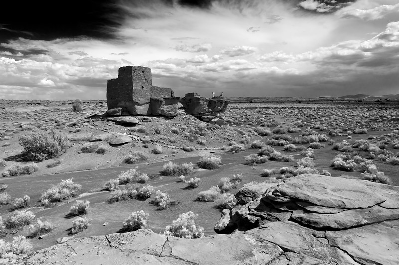 Wukoki Ruins - The Wupatki National Monument is a National Monument located in north-central Arizona, near Flagstaff.