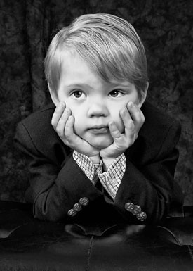 """Are We Done Yet!?"" Portrait of a Child, VPPA Merit"