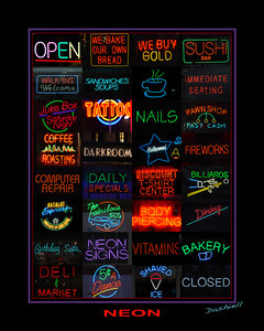 OPEN and CLOSED, NEON 1