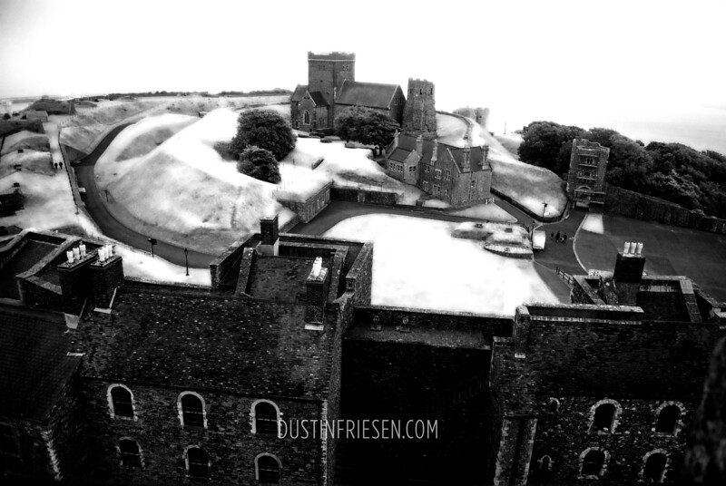 on top of Dover Castle