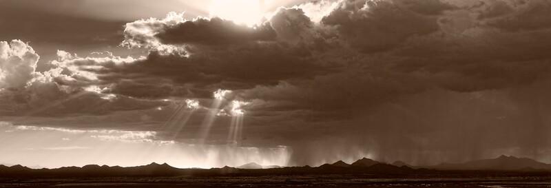 Sonoran Desert Squall, Tucson, Arizona