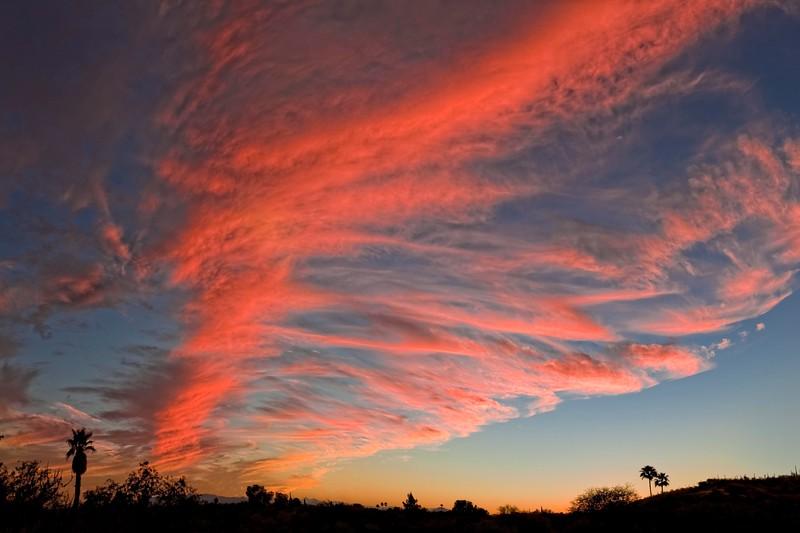 Sunset, Tucson, AZ