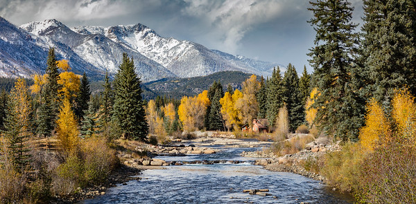 Autumn in San Juan National Forest, Colorado