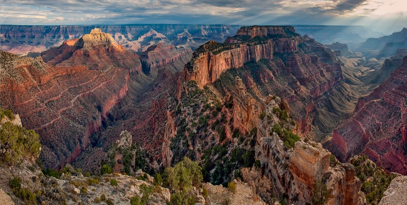 Cape Royal Panorama, North Rim Grand Canyon