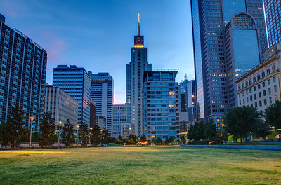 Main Street Park, Dallas Texas Copyright 2014 - Thorpeland Photography