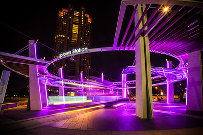Uptown Trolley Station, Dallas Texas Copyright 2014 - Thorpeland Photography