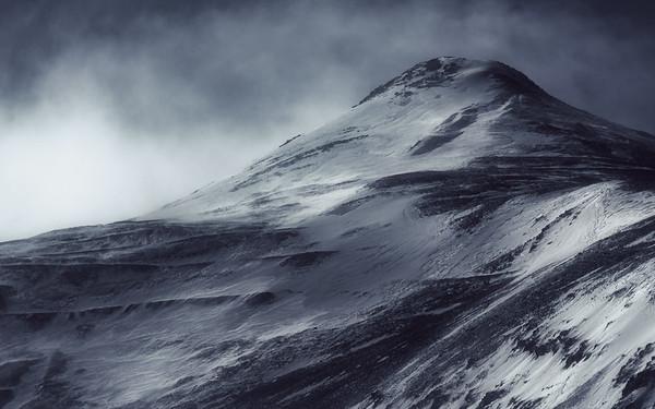 Stormy Mountain Peak