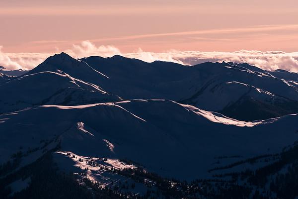 Coast Mountain Sunset