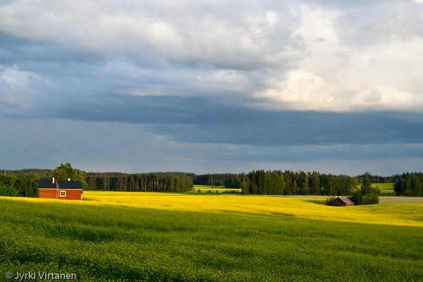 Passing Thunderstorm - Hausjärvi, Finland
