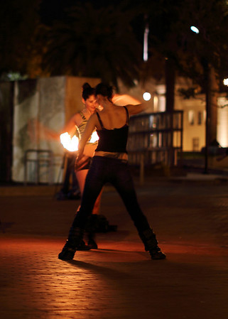 Fire Dancers II