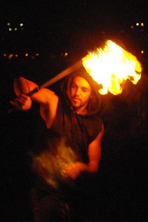 Fire Twirlers 4/23/14