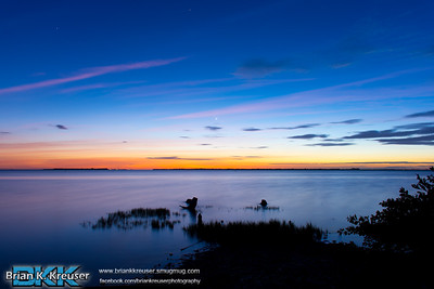 Sunset over Pine Island Sound 01132015