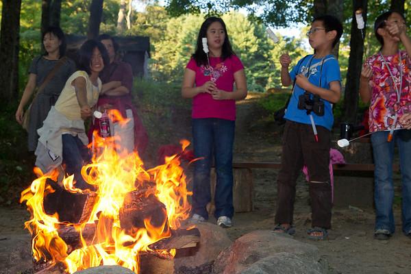 Fireside at Singing Hills
