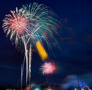 July 4 2018 Mamaroneck Ny Fourth Of July Fireworks As Captured From S