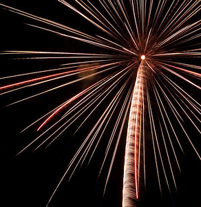 Altadena Fireworks - July 2, 2009