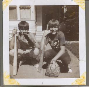 Kurt and Jeff.  Childhood friends in Watertown, South Dakota.