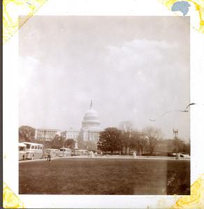 Family trip to Washington, D.C.  Capitol view.