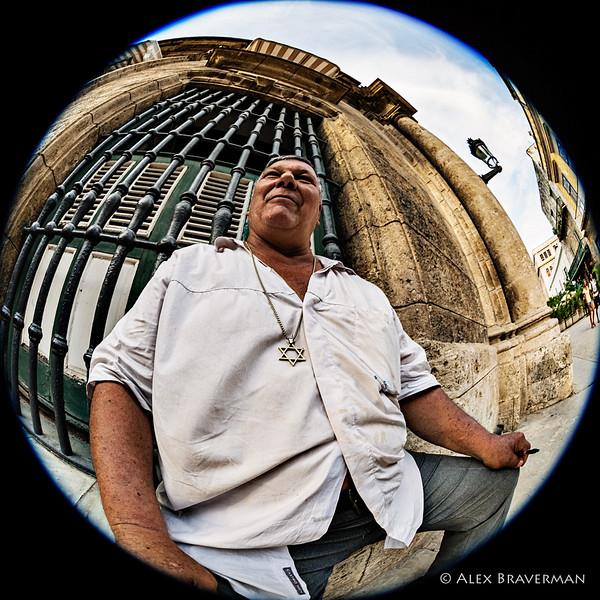 portrait of a Cuban Jew